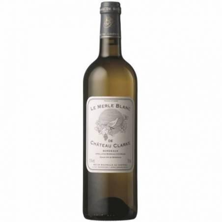 Le Merle Blanc Chateau de Clarke Wino białe wytrawne 2017