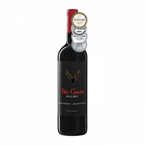 Big Game Malbec wino czerwone wytrawne 2019