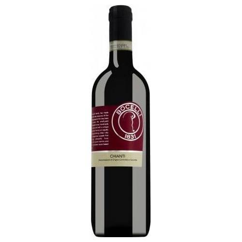 Bocelli Chianti  DOCG wino czerwone wytrawne 2018