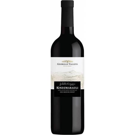 Georgian Valleys Kindzmarauli  wino czerwone półsłodkie 2019